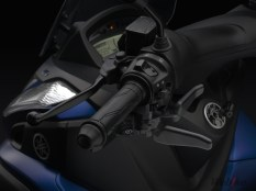handle kiri Yamaha Tricity 155 cc with Parking Brake pertamax7.com