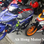 Honda Supra GTR 150 Repsol VS Yamaha Jupiter MX KING 150 Movistar