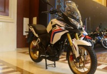 Honda CBF190X Adventure Made in Honda China