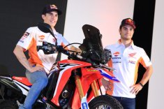 Marc marquez honda CRF250 Rally Indonesia