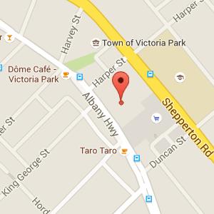 google map healing room