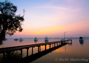 Mt Pleasant Jetty sunrise