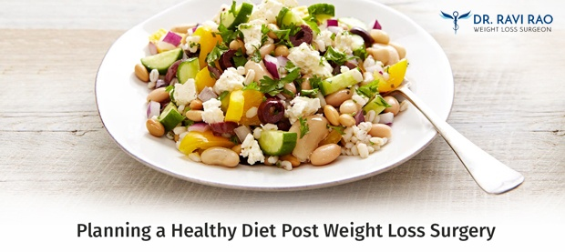 Planning a Healthy Diet Post Weight Loss Surgery