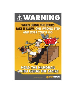 Free Stairs Safety Poster