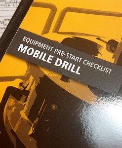 Drill Pre Start Checklist Books