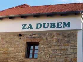 Die Unterkunft Za Dubem, Peruc