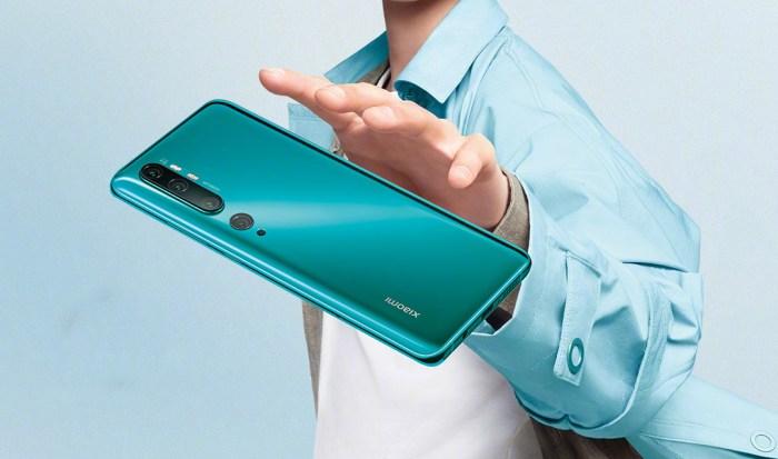 Xiaomi presenta oficialmente el Mi Note 10 con cámara de 108 MP