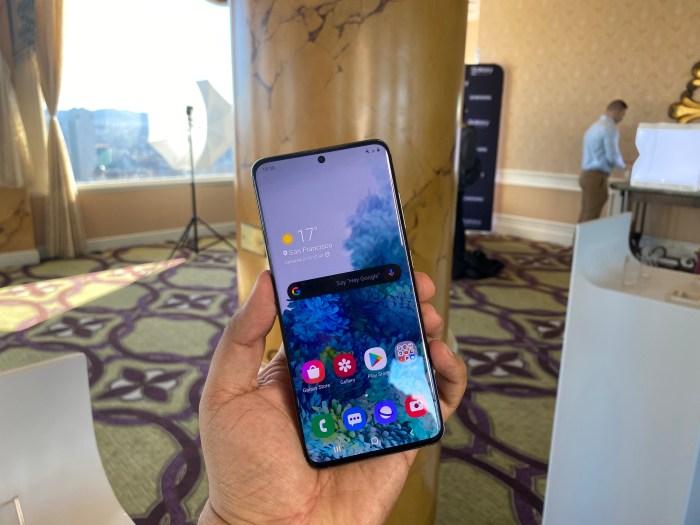 Samsung anuncia los nuevos Galaxy S20: renovación total