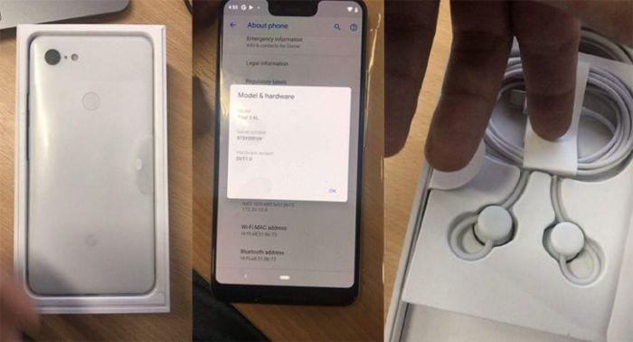 El Pixel 3 XL se desvela en unboxing no oficial y confirma especificaciones