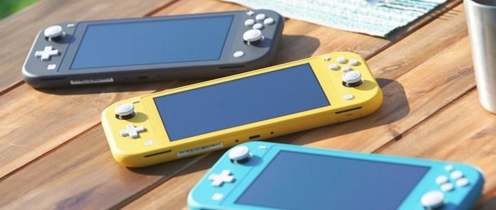 Nintendo Switch Lite: misma potencia pero más portable