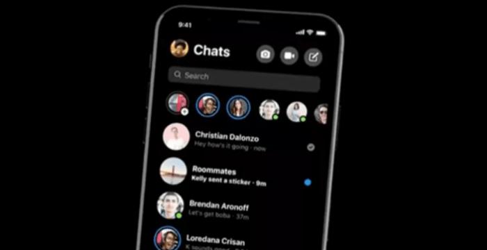 Modo oscuro de Facebook Messenger ya disponible para todos