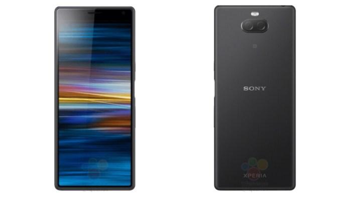 El Sony Xperia XA3 se deja ver en primeros renders filtrados