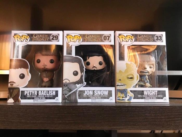 Ganadores de los Funko de Game of Thrones