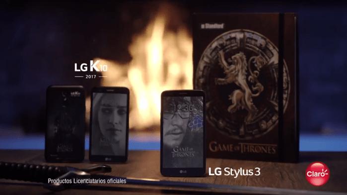 LG y Claro se suman a la fiebre de la popular serie Game of Thrones