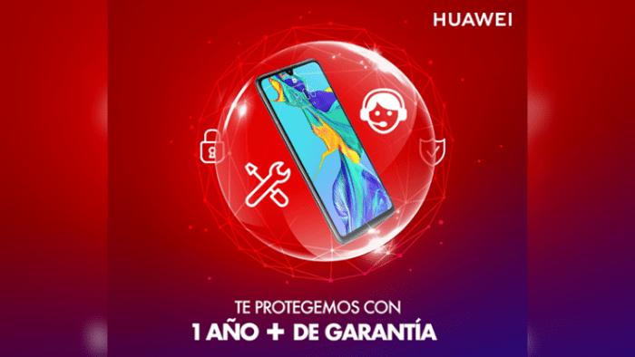 Smartphones de Huawei tendrán dos años de garantía en Perú