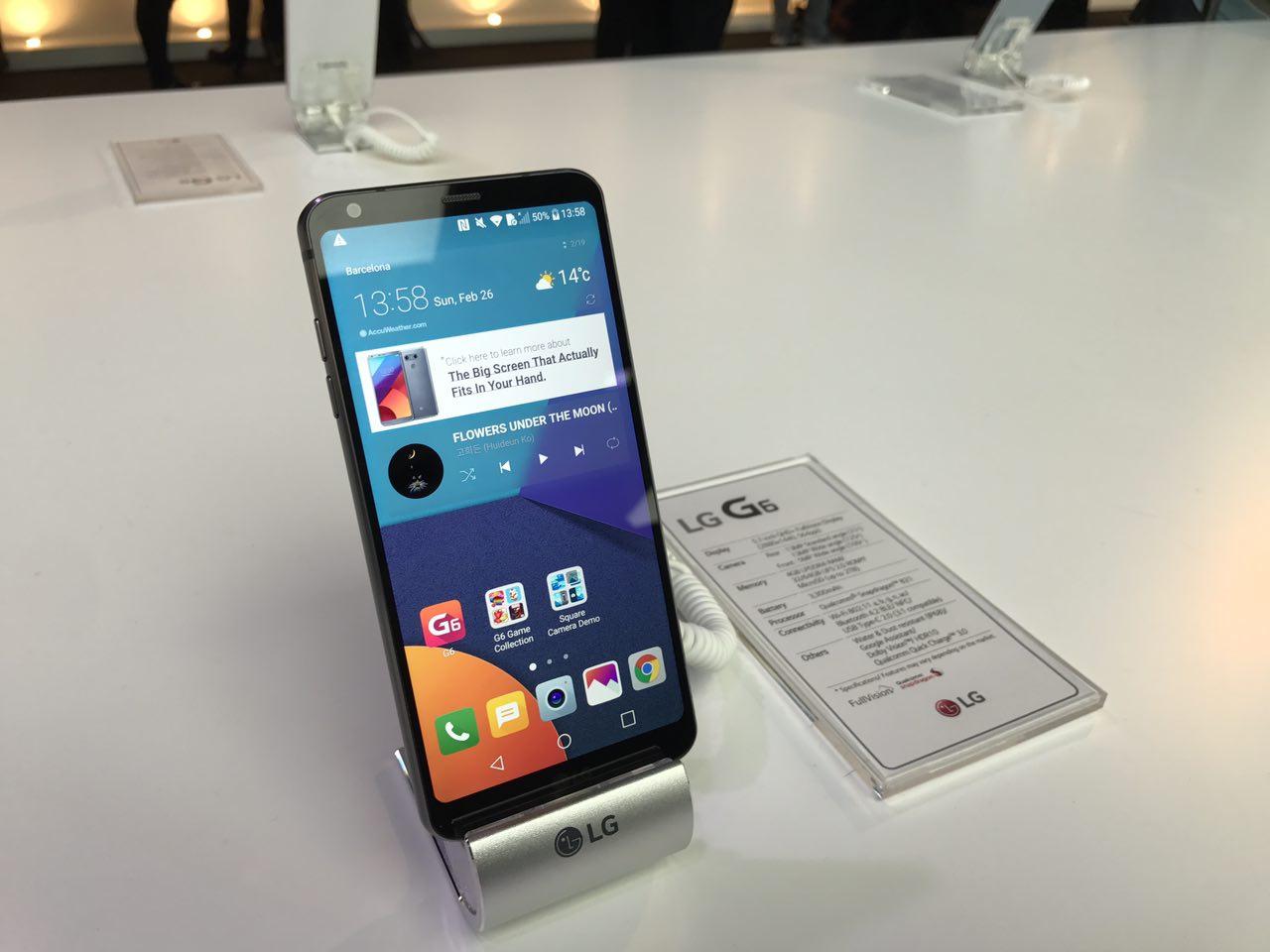 LG G6, potente doble cámara trasera y un rediseño que enamora