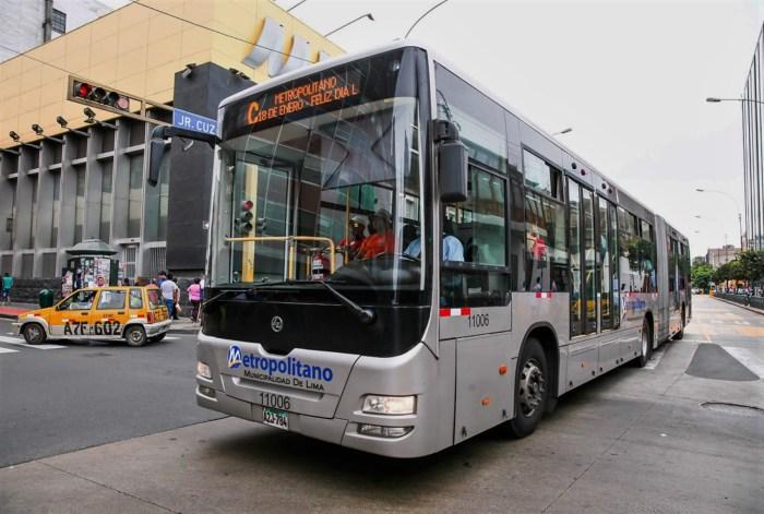 El Metropolitano anuncia cambio de horarios para lidiar con alto tráfico por el Perú – Colombia