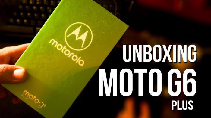 (VÍDEO) Unboxing del Moto G6 Plus: el smartphone más bonito de Motorola