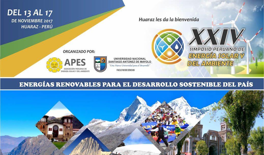 XXIV SPES 2017: Simposio Peruano de Energía Solar y del Ambiente