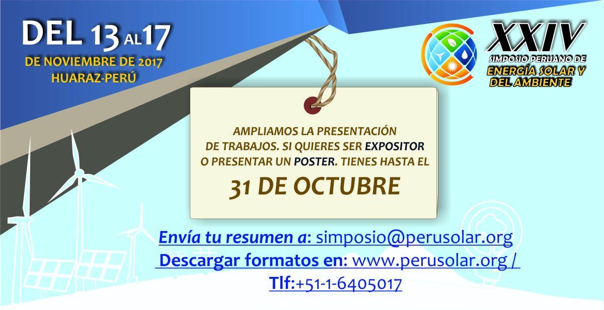 XXIV SPES 2017- Ultimo llamado ponentes