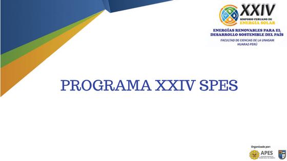 PROGRAMA XXIV SPES