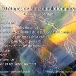 Les 10 étapes de la manipulation perverse par Geneviève SCHMIT