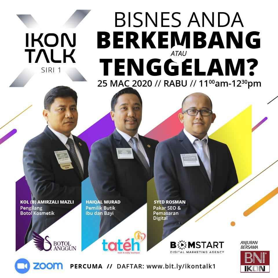 Ikon Talk 1 - BNI IKON