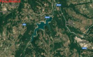 lago Scandarello visto dall alto