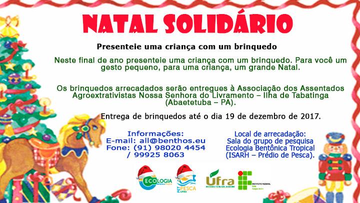 Natal solidário: Arrecadação de brinquedos