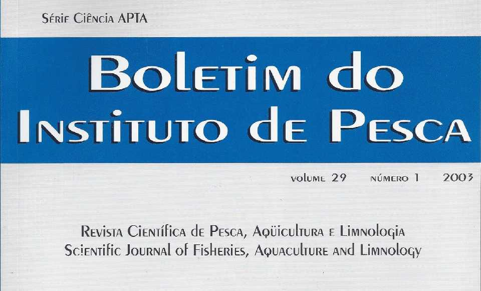 Boletín del Instituto de Pesca
