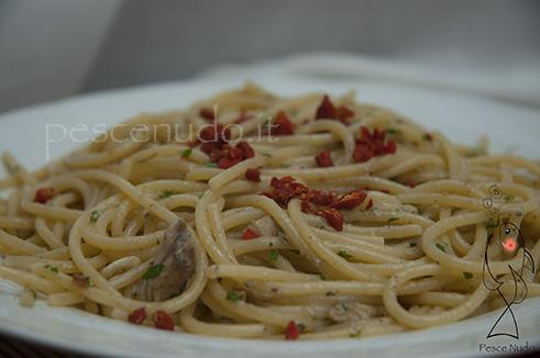 Spaghetti e alici