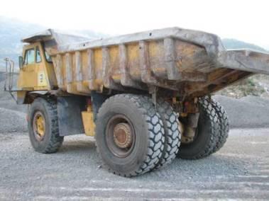 Peskanje in akz kamionov