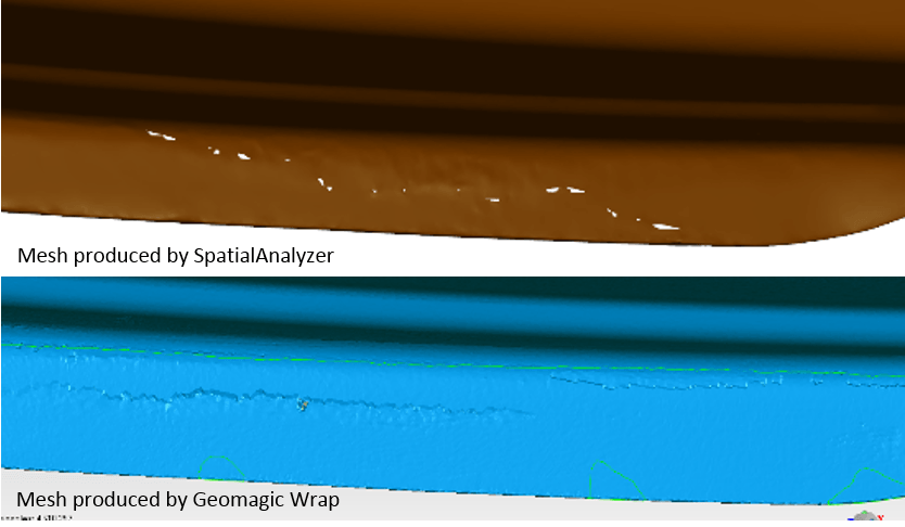 SpatialAnalyzer vs Geomagic