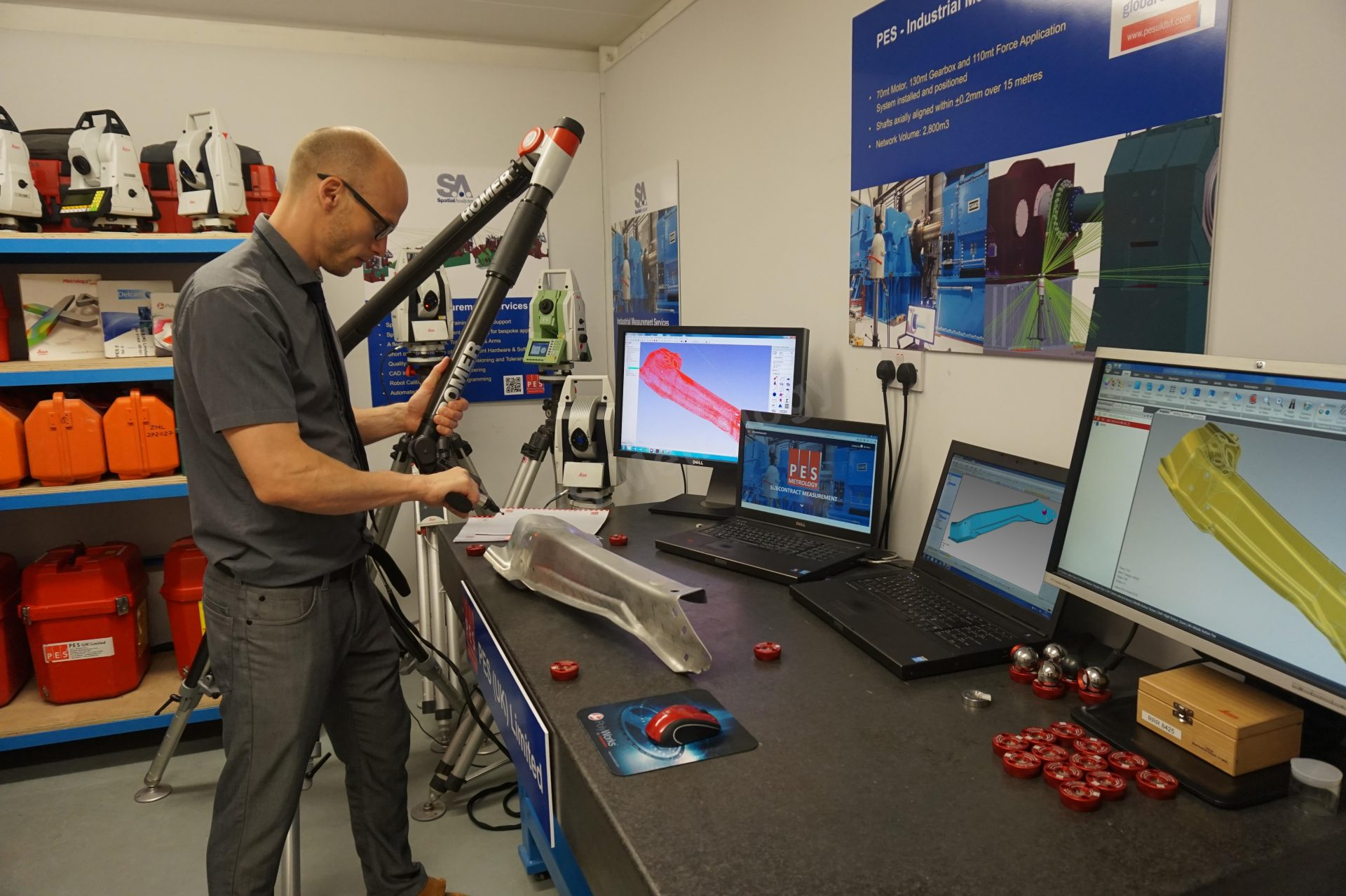 PES Metrology - Portable CMM Arms training