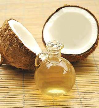 Coconut and oil of it