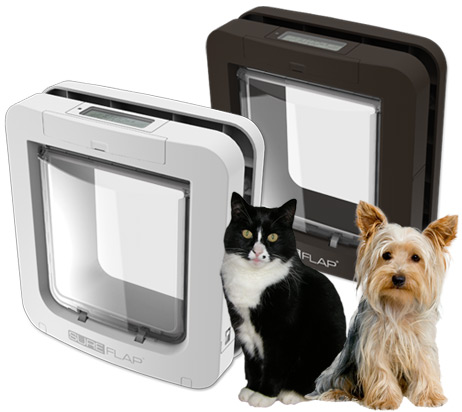 Electronic Microchip Cat Flaps And Doors