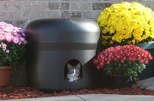 Kitty Tube Insulated Cat House 187 Petagadget