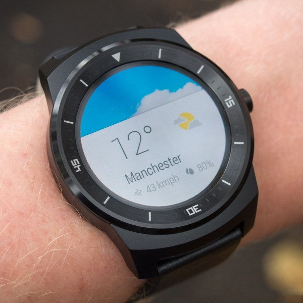 Android Wear Circle Smart Watch by LG