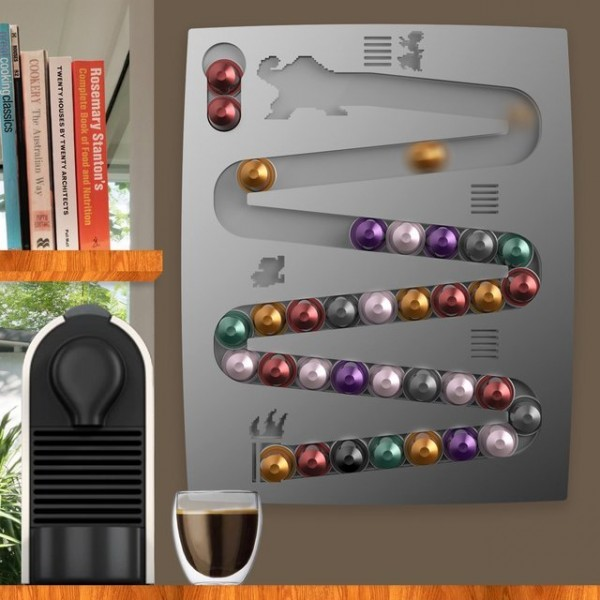 CapsuleKong Nespresso Wall Mount by Hologramer