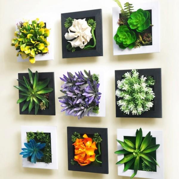 3D Artificial Garden Wall Squares