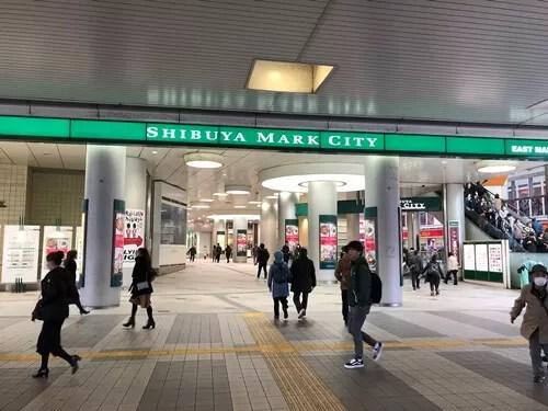 渋谷マークシティ前