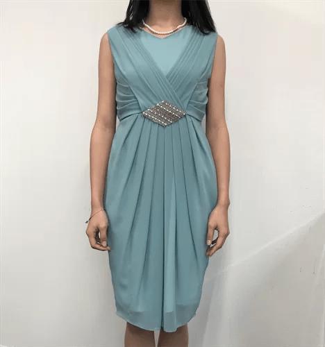 マイクローゼットでレンタルしたドレスの画像
