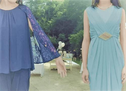 マイクローゼットでレンタルしたドレス