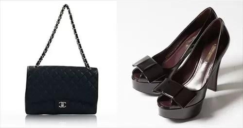 cariruでレンタルできるバッグ、靴