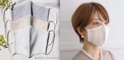 Cariruのレースマスク・ドレスセットのマスク