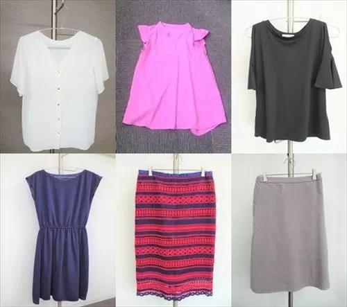 ファッションレンタルのアイテム