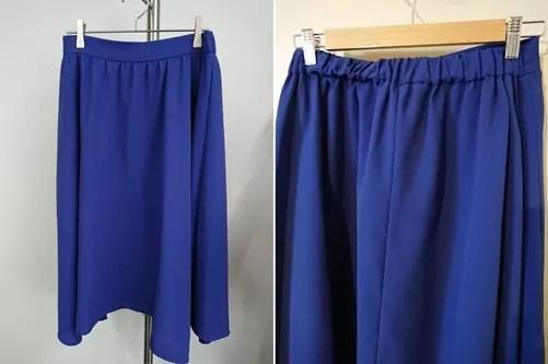 エアークローゼットから届いたスカート
