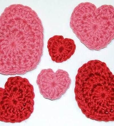 Valentine's Day Heart Crochet Patterns