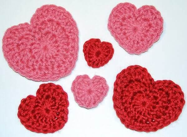 heart crochet pattern