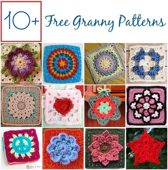 Free Motif Patterns Petals To Picots Awesome Crochet Motif Patterns
